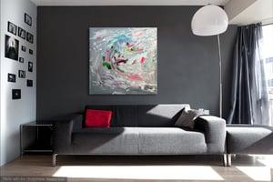 Image of Vi libertatis - 101x101cm