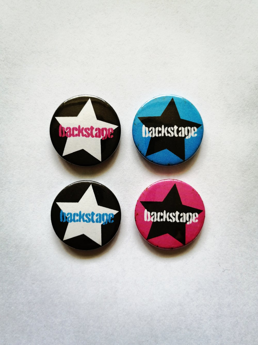 BACKSTAGE Pins (2 for 1)