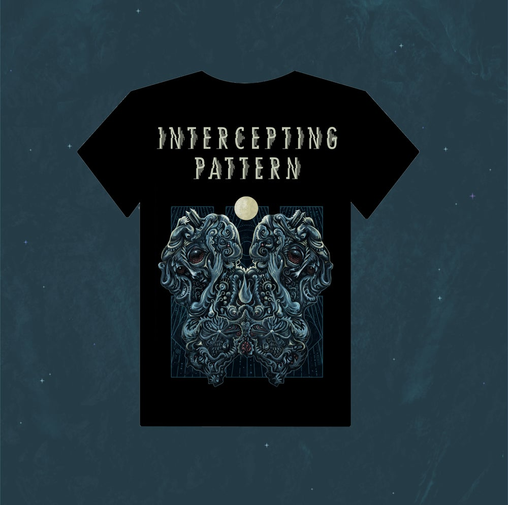 Image of INTERCEPTING PATTERN - The Encounter T-Shirt