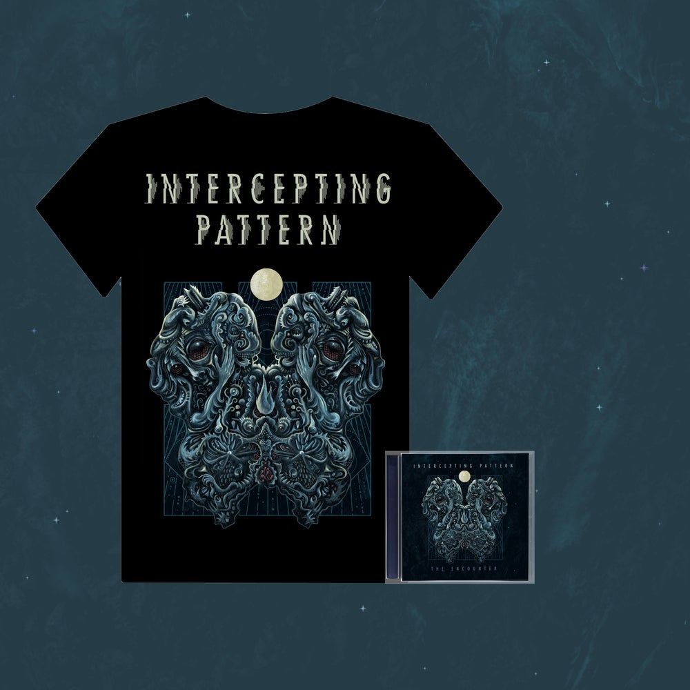 Image of INTERCEPTING PATTERN - The Encounter T-Shirt + CD