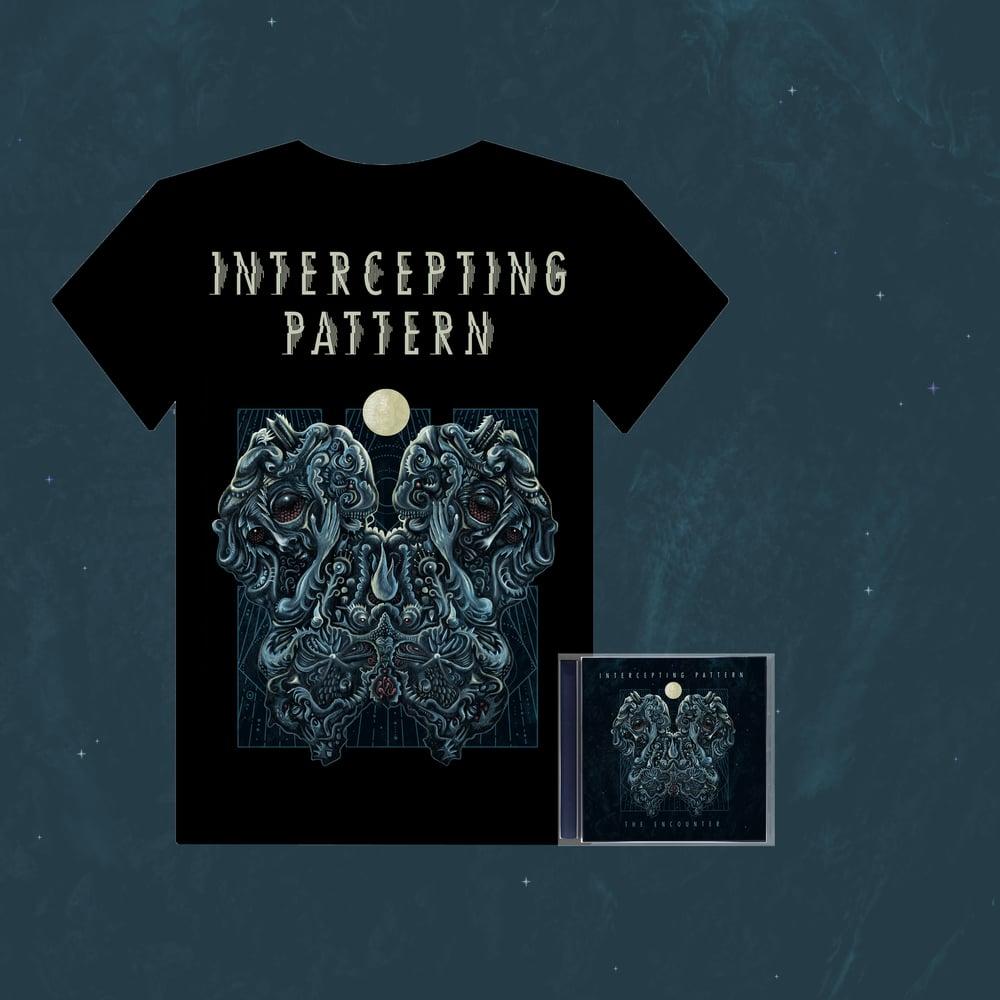Image of INTERCEPTING PATTERN - The Encounter T-Shirt + CD pre-order