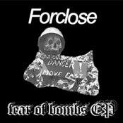"Image of FORCLOSE Fear Of Bombs 7"" Flexi"