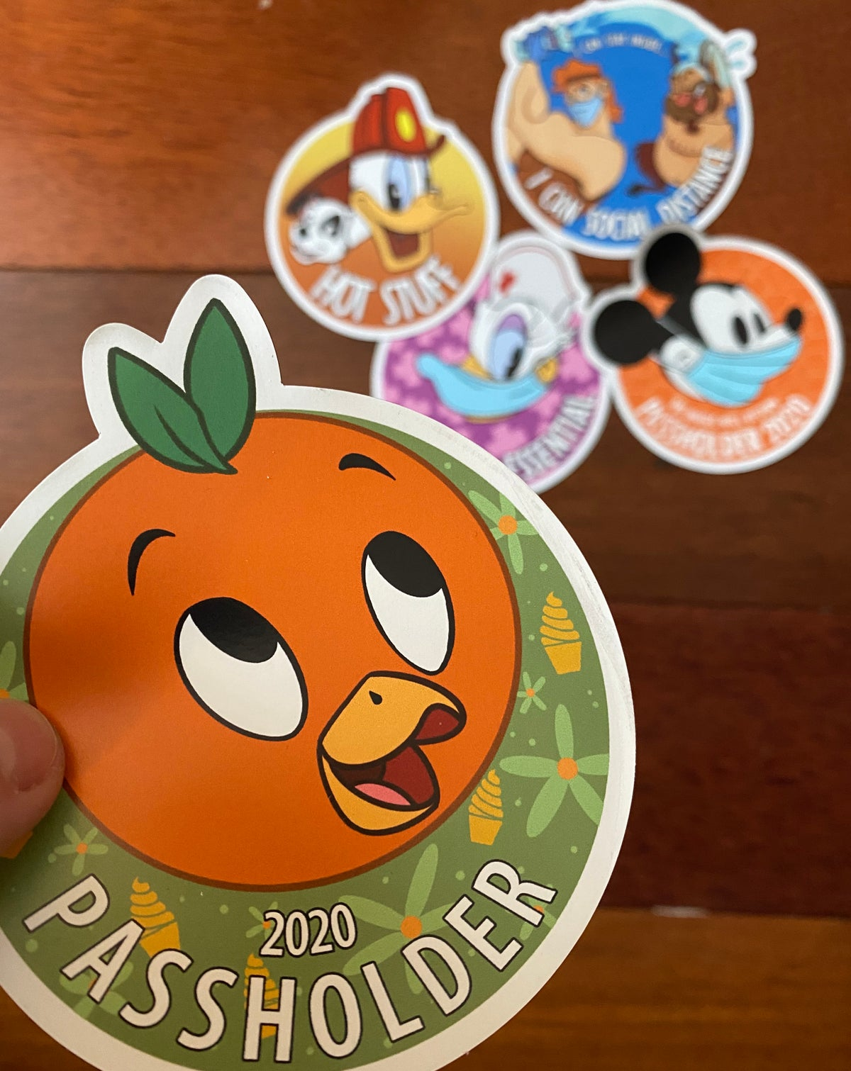 Image of Passholder Magnets and Stickers