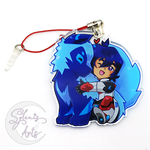 VLD Kosmo and Baby Keith charm