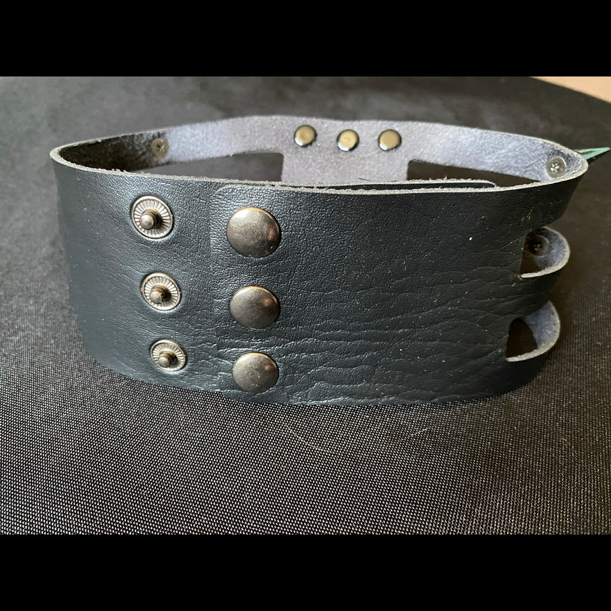 Image of Black Metal O-Rings Choker