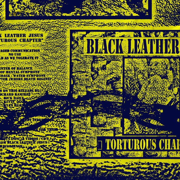Image of Black Leather Jesus - Tortuous Chapter CD