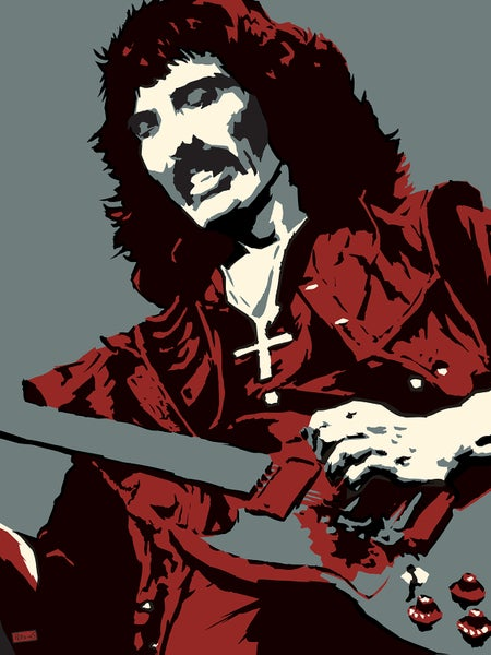 "Image of ""Perkins 77"" Art Print Series - 7724 Tony Iommi"