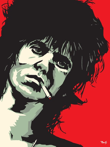 "Image of ""Perkins 77"" Art Print Series - 7726 Keith Richards"