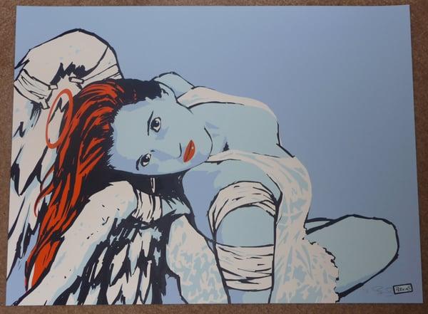 """Image of """"Broken Angel"""" art print"""