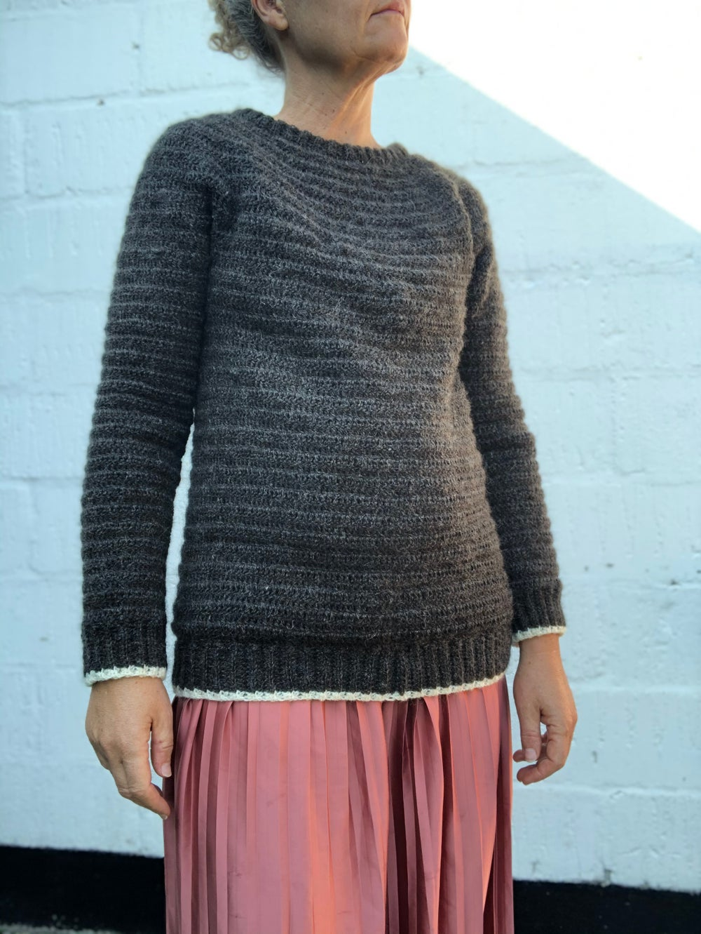 "Image of ""Everyday"" Sweater, hækleopskrift"