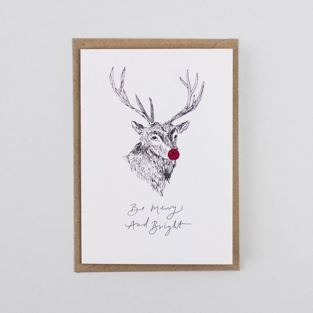 Image of Be Merry And Bright Reindeer