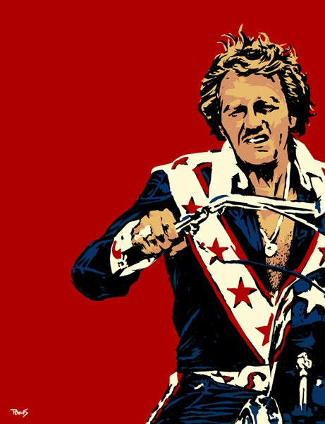 """Image of """"Pure Evel"""" Limited Edition Art Print"""