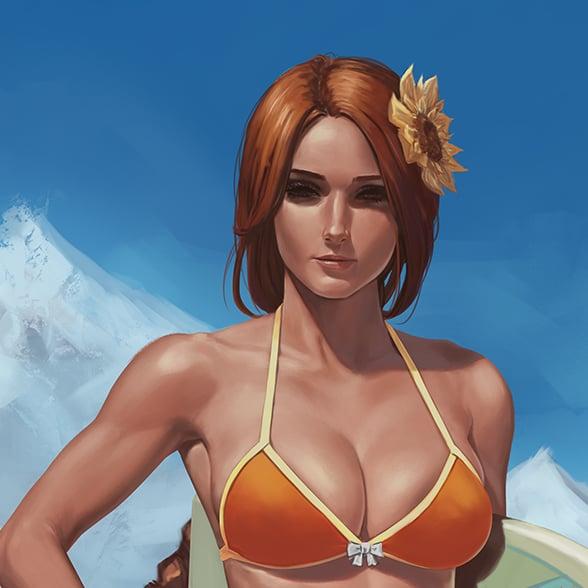 Image of Beach Bikini Leona