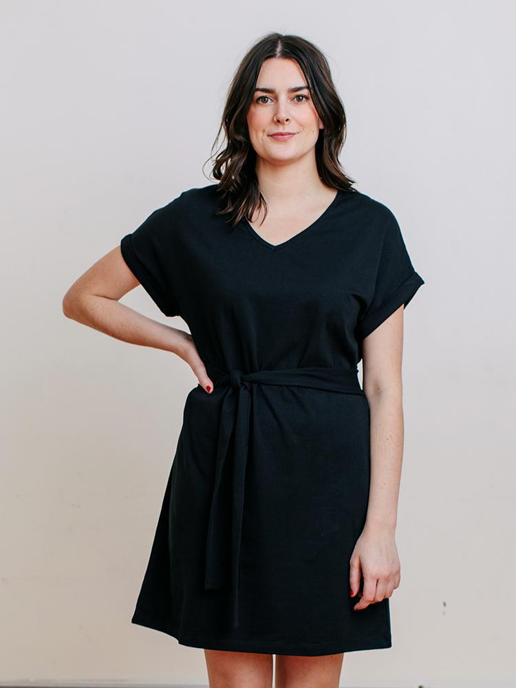 Image of Montrose Organic Cotton Tie Dress