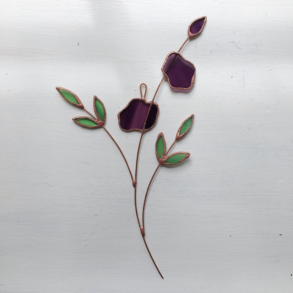 Image of Purple Posie no.2