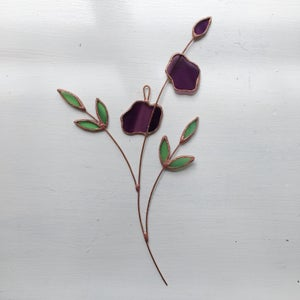 Image of Purple Posie no.2