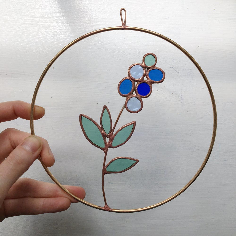 Image of Blueberry Wreath no.1