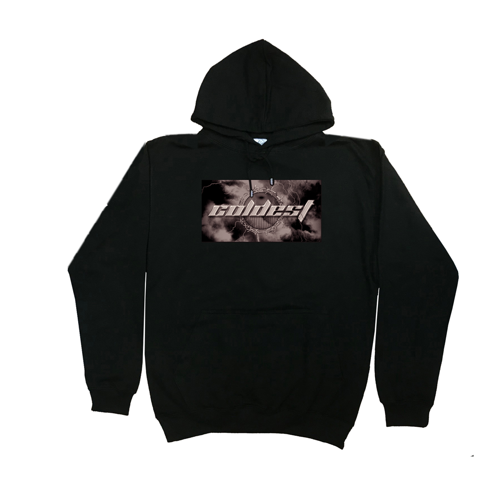 BARBED WIRE GRAPHIC HOODIE