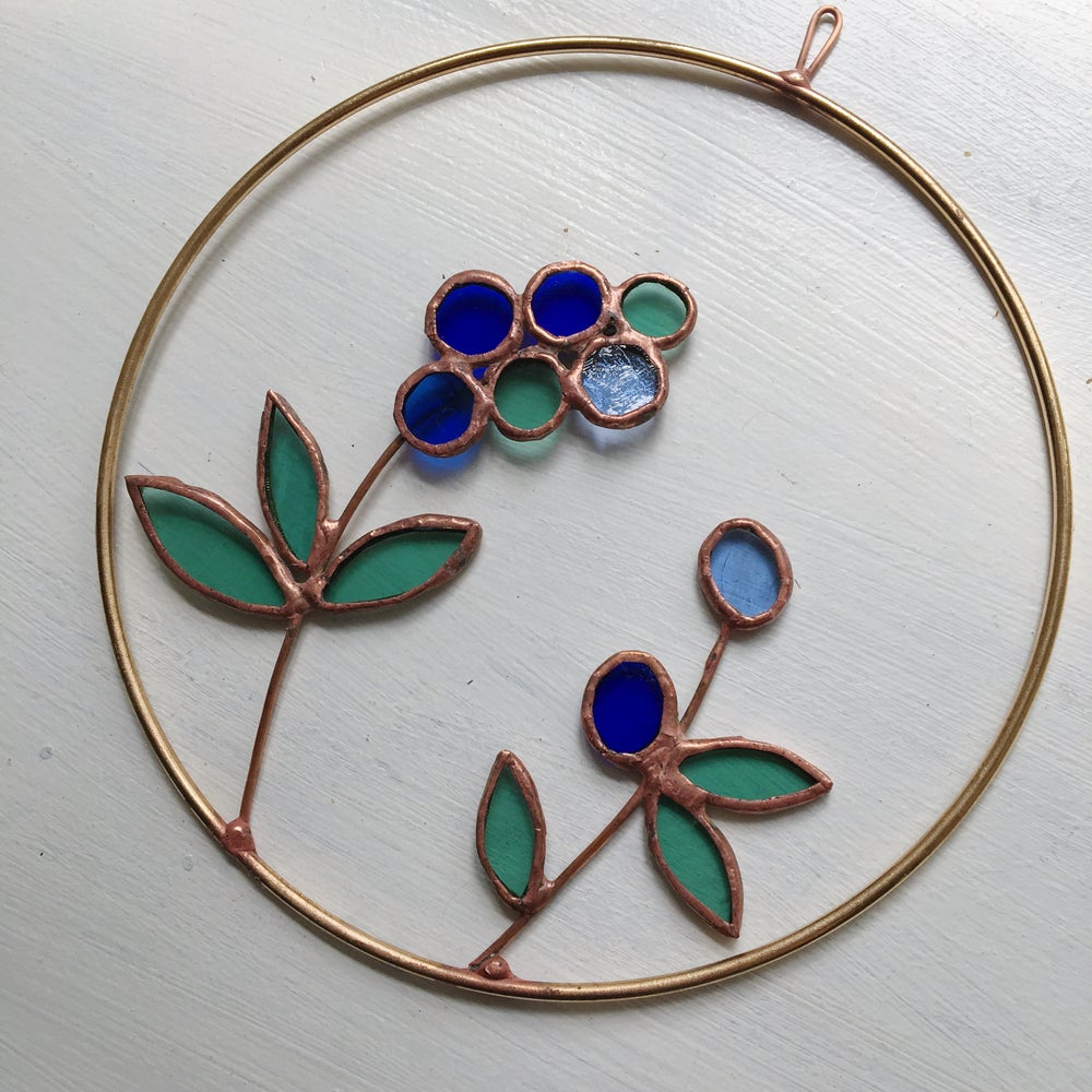 Image of Blueberry Wreath no.2