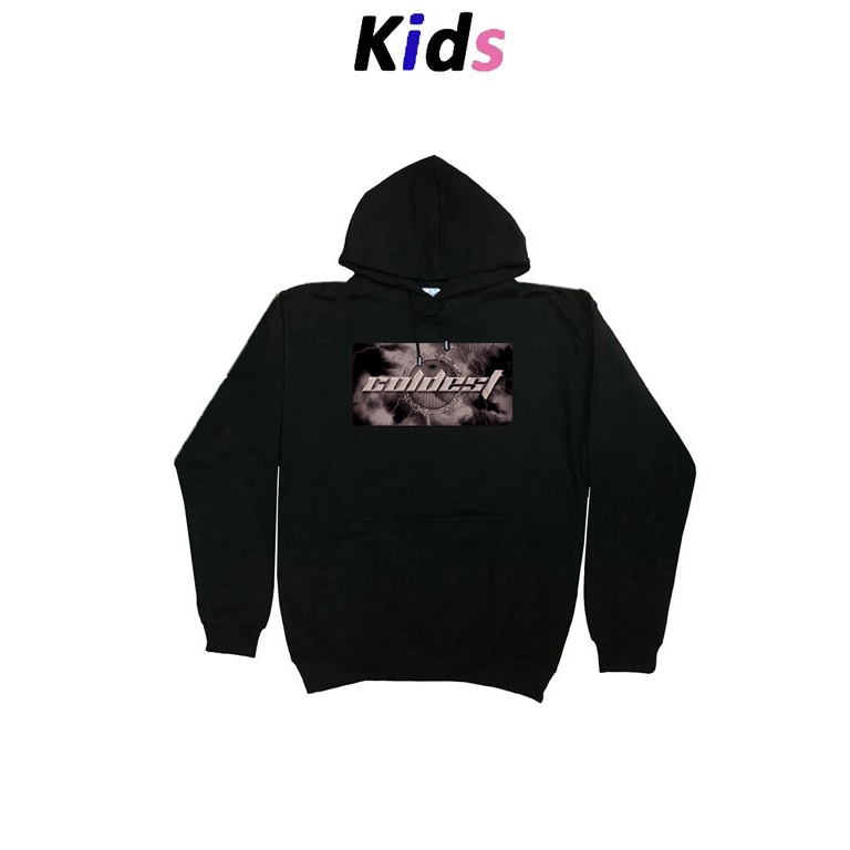 KIDS · BARBED WIRE GRAPHIC HOODIE
