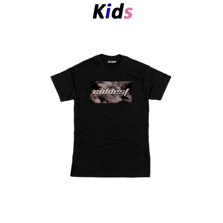 KIDS · BARBED WIRE GRAPHIC T-SHIRT