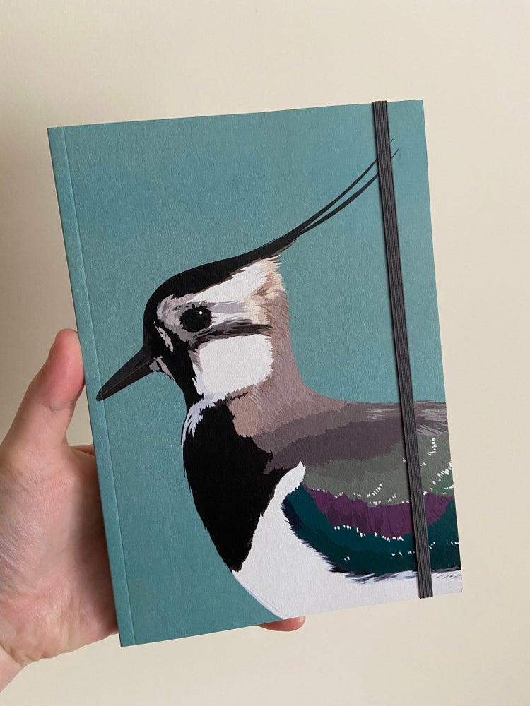 Image of Lapwing A5 Notebook