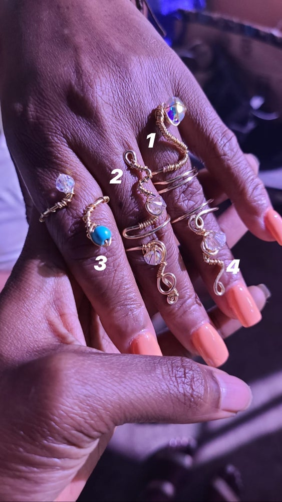 Image of The Glam life Rings/ Ring set
