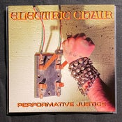 """Image of Electric Chair - Performative Justice 7"""" (4th press; Red vinyl)"""