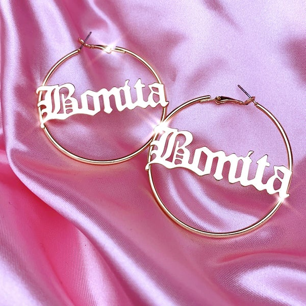 "Image of ""Bonita"" Hoop Earrings"