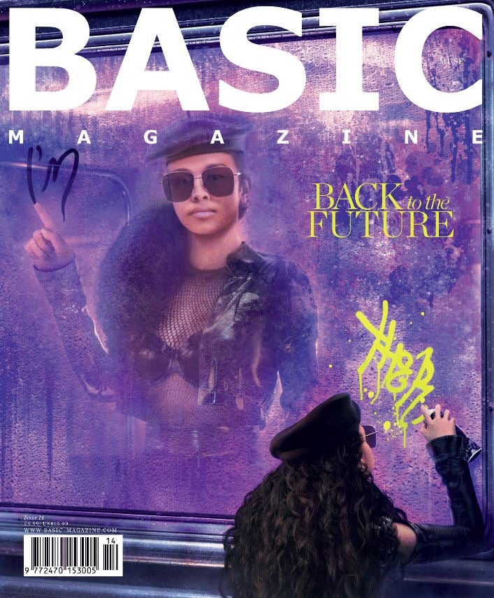 Image of BASIC  H.E.R. Cover || MUSE Issue 14
