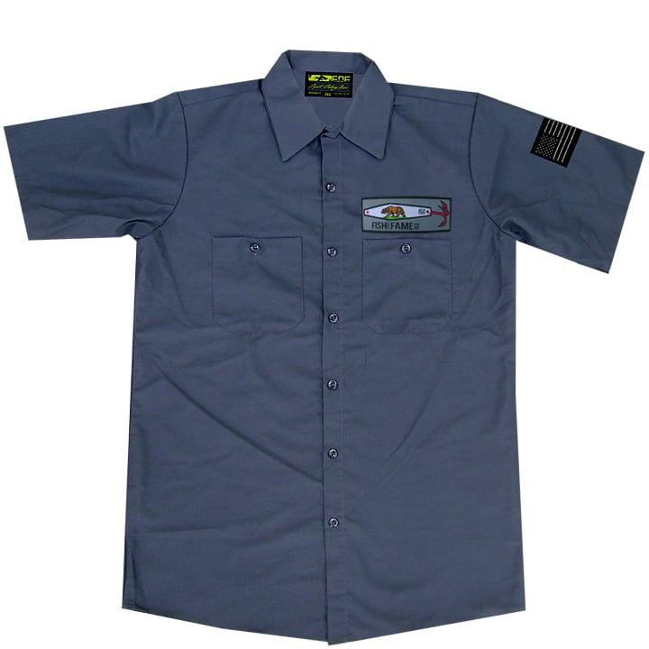 Image of CA - JIG Crew Shirt (gun metal)