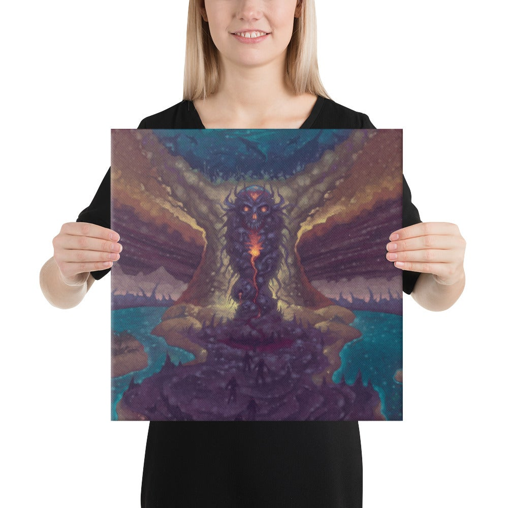 The Subterranean Spawn Canvas Print by Mark Cooper Art