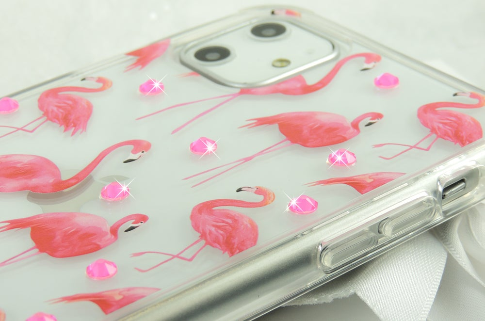 Image of Flamingo Accents Case