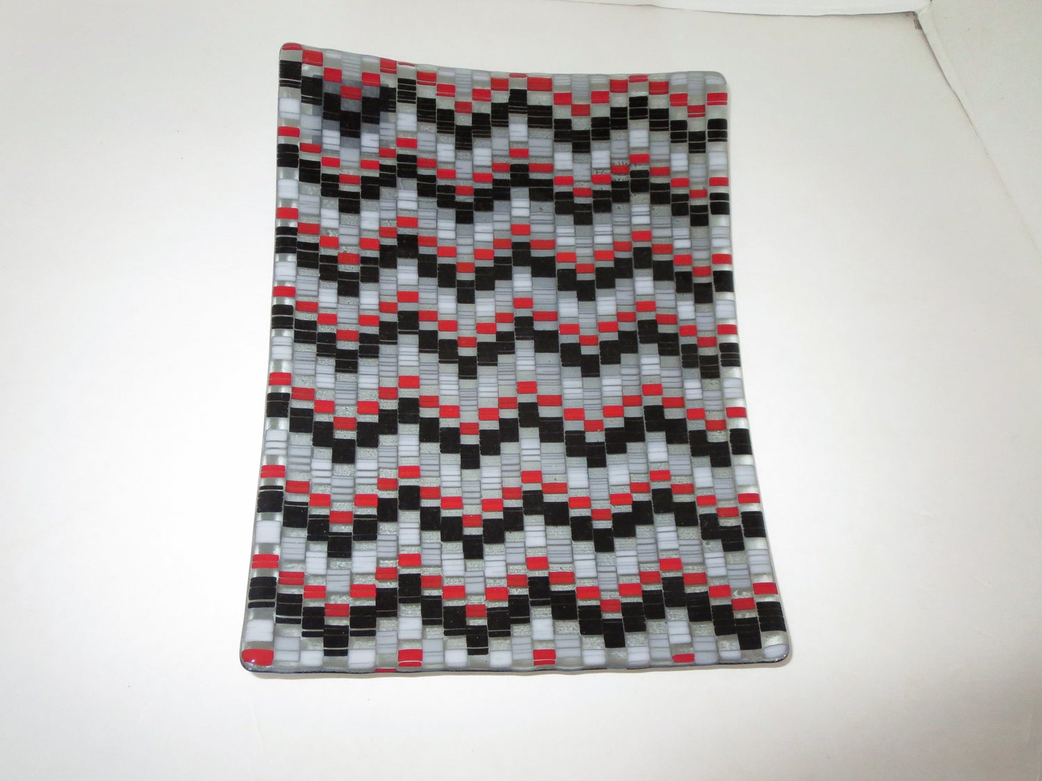 Red and Black Bargello - FG-113