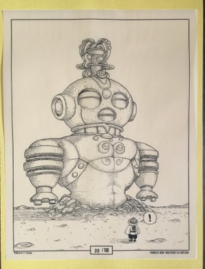 """ Great Dogu Statue""  Visions of Japan Illustation #1"