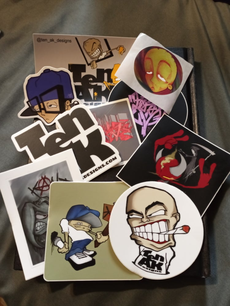 Image of Variety Sticker Pack