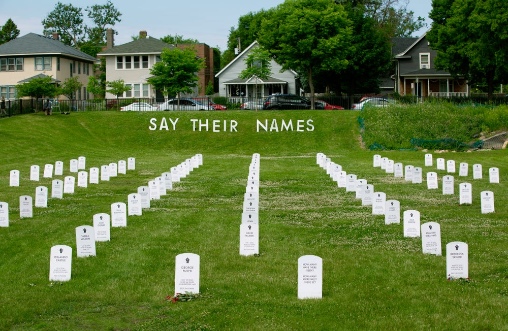 Image of Limited Edition Say Their Names Cemetery Print