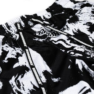 Image of Stevie II Active Short (Black/White)