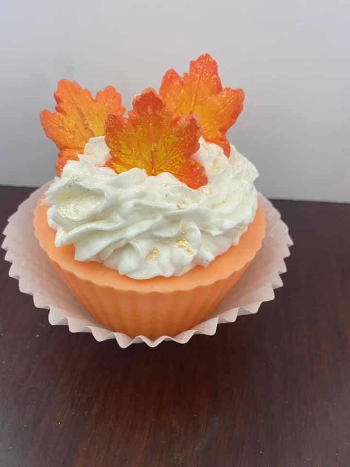 Jumbo Cup Cake Candle