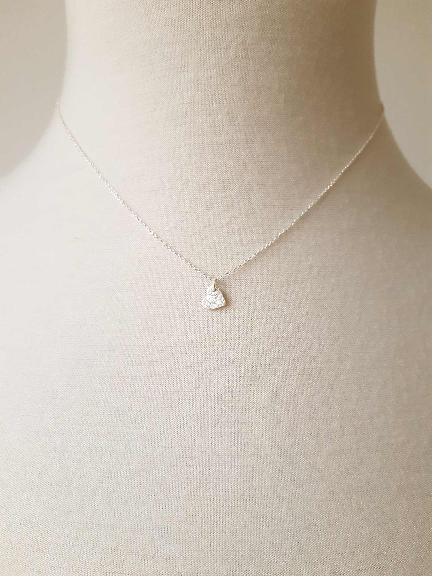 Image of Little Heart Necklace · Silver