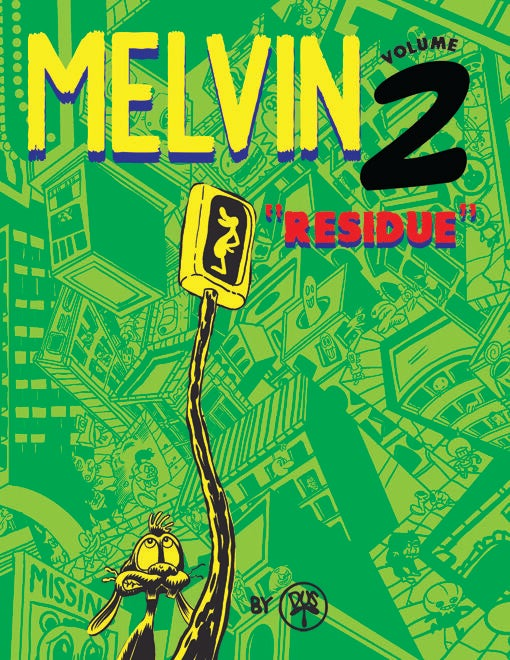 "Image of Melvin #2 - ""Residue"""