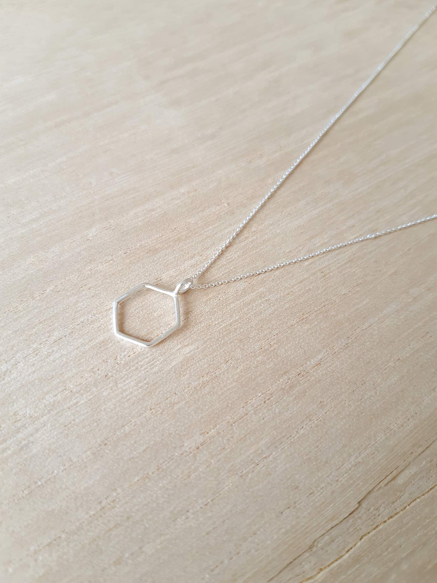 Image of Hexagon Necklace N. 1