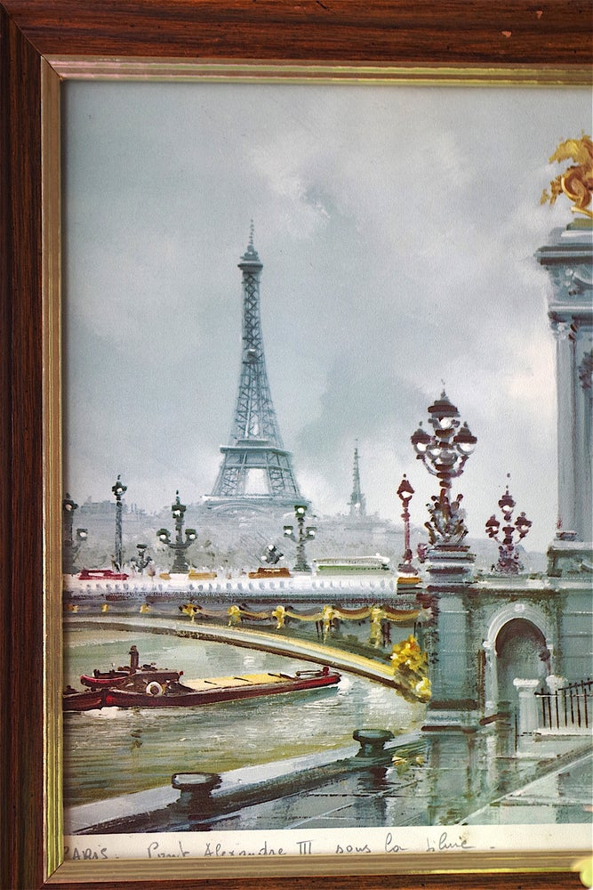 Image of Paris in the Rain