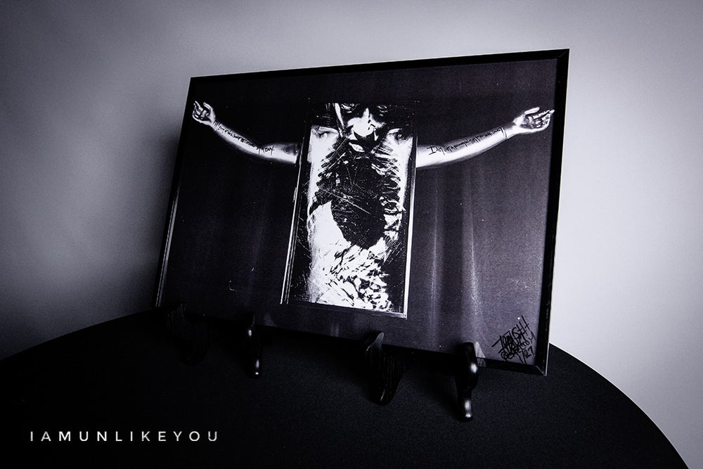 """Image of 12"""" x 18"""" Parting Martyrs in Myxoma Poster [B&W or Color Variant Limited Edition]"""