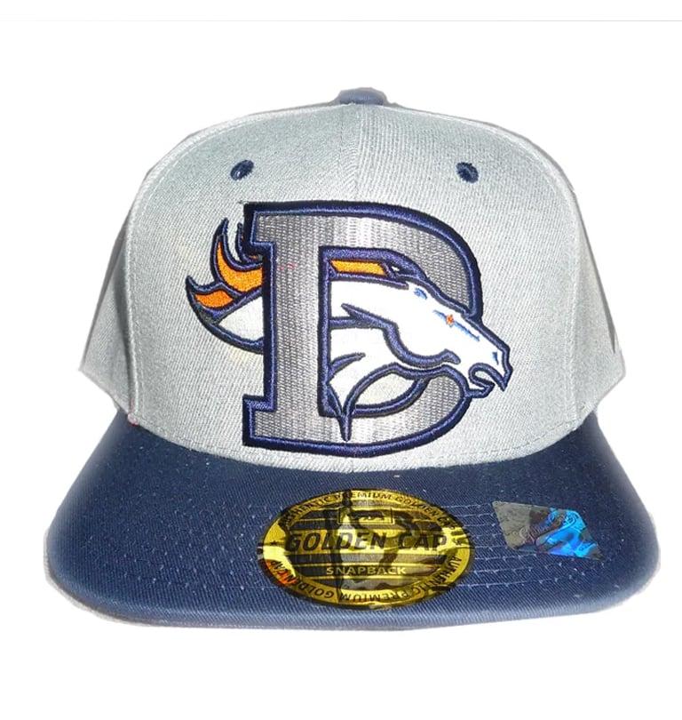 Image of DENVER BRONCOS COLORADO EMBROIDERED SNAPBACK HAT