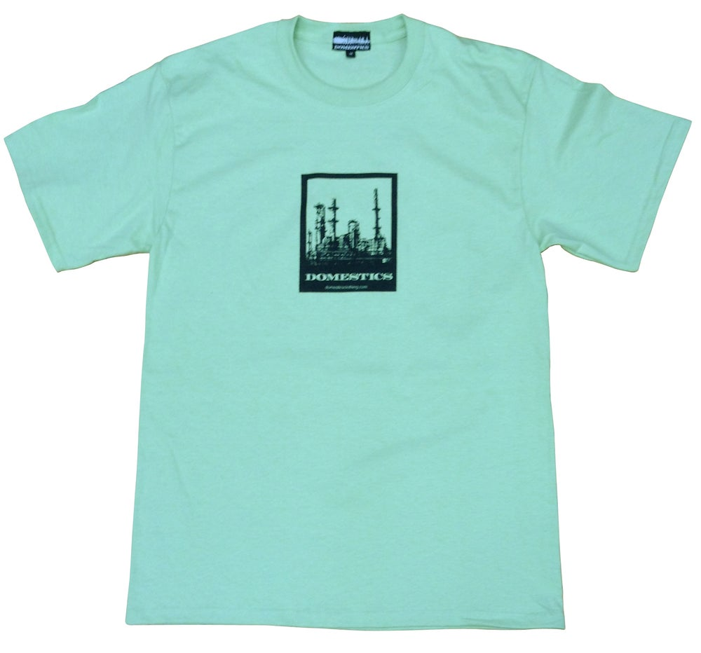 Image of DOMEstics. Factory T-shirt (mint)