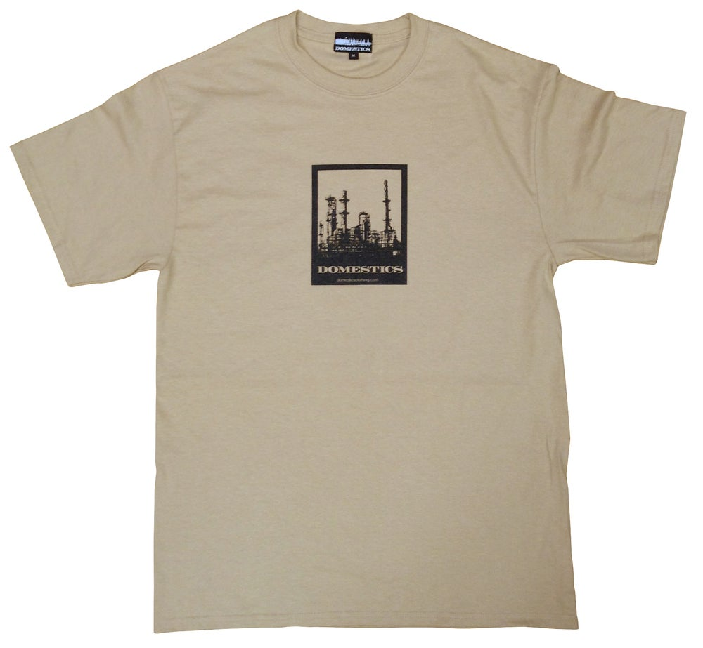 Image of DOMEstics. Factory T-shirt (khaki)