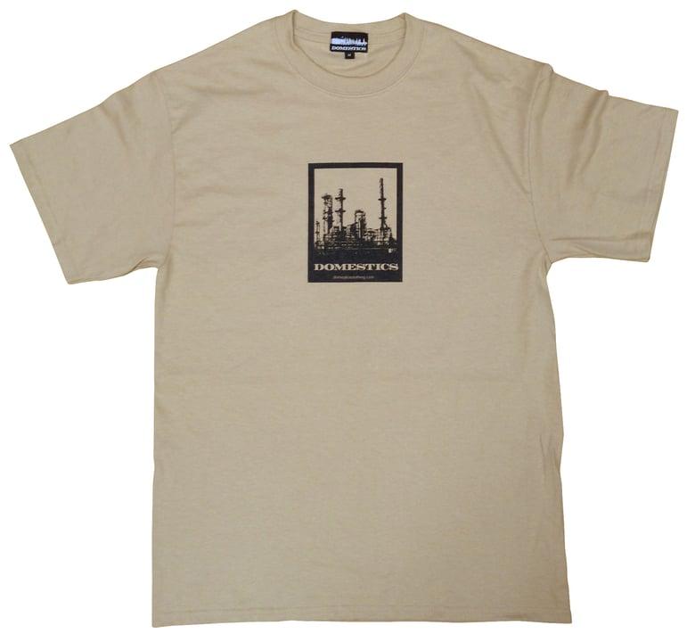 Image of DOMEstics. Factory T-shirt (khaki)