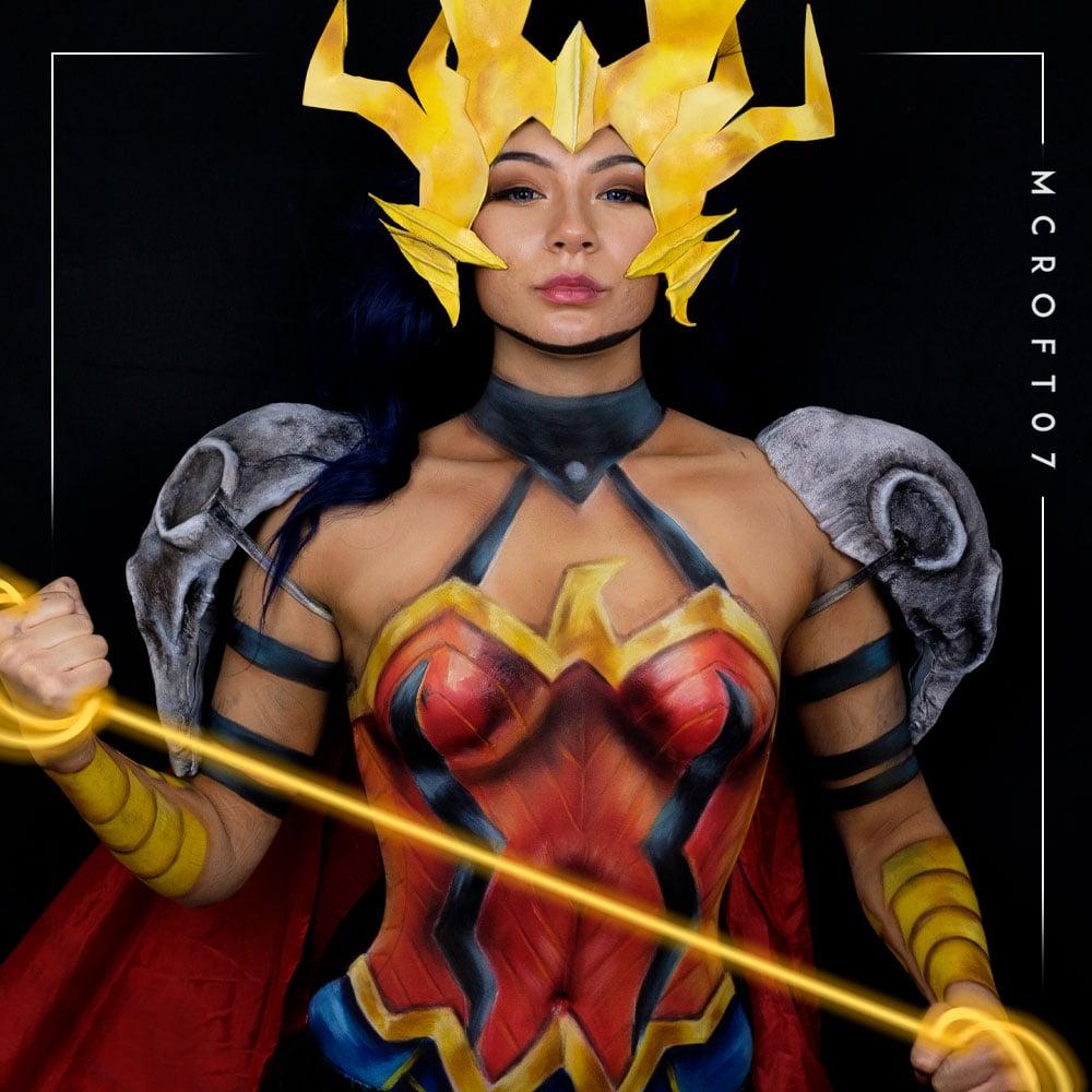 Image of Death Metal Wonder Woman