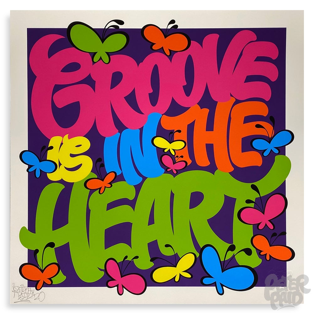 Image of Groove is in the Heart - Archival Print
